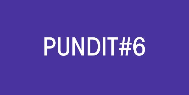 Pundit#6: Mis De Digitale Boot Niet!